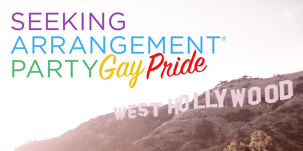 SeekingArrangement Party Gay Pride 2017